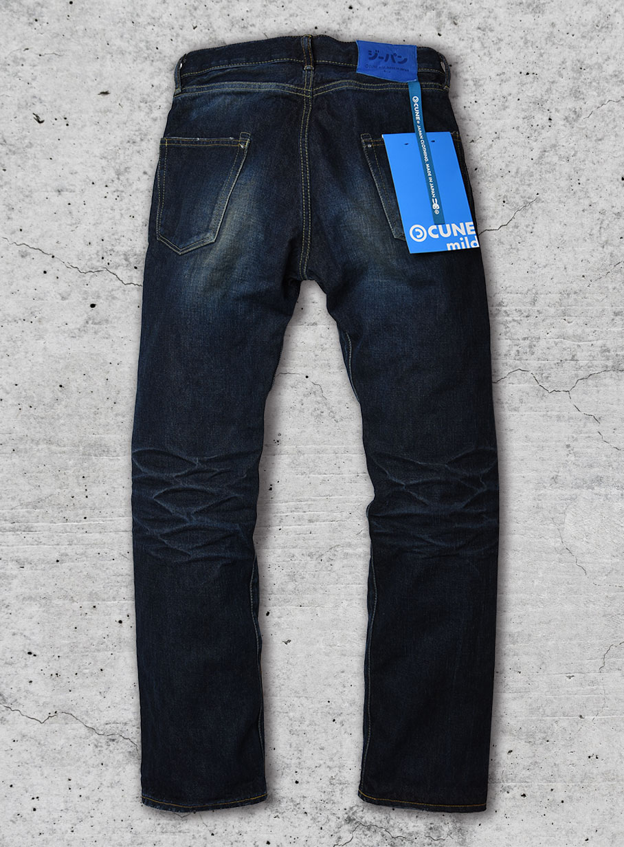 CUNE MILD JEANS  left-hand weave wash
