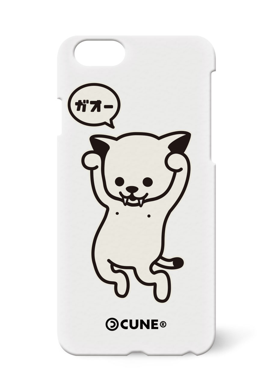 iPhone Plus case ガオー