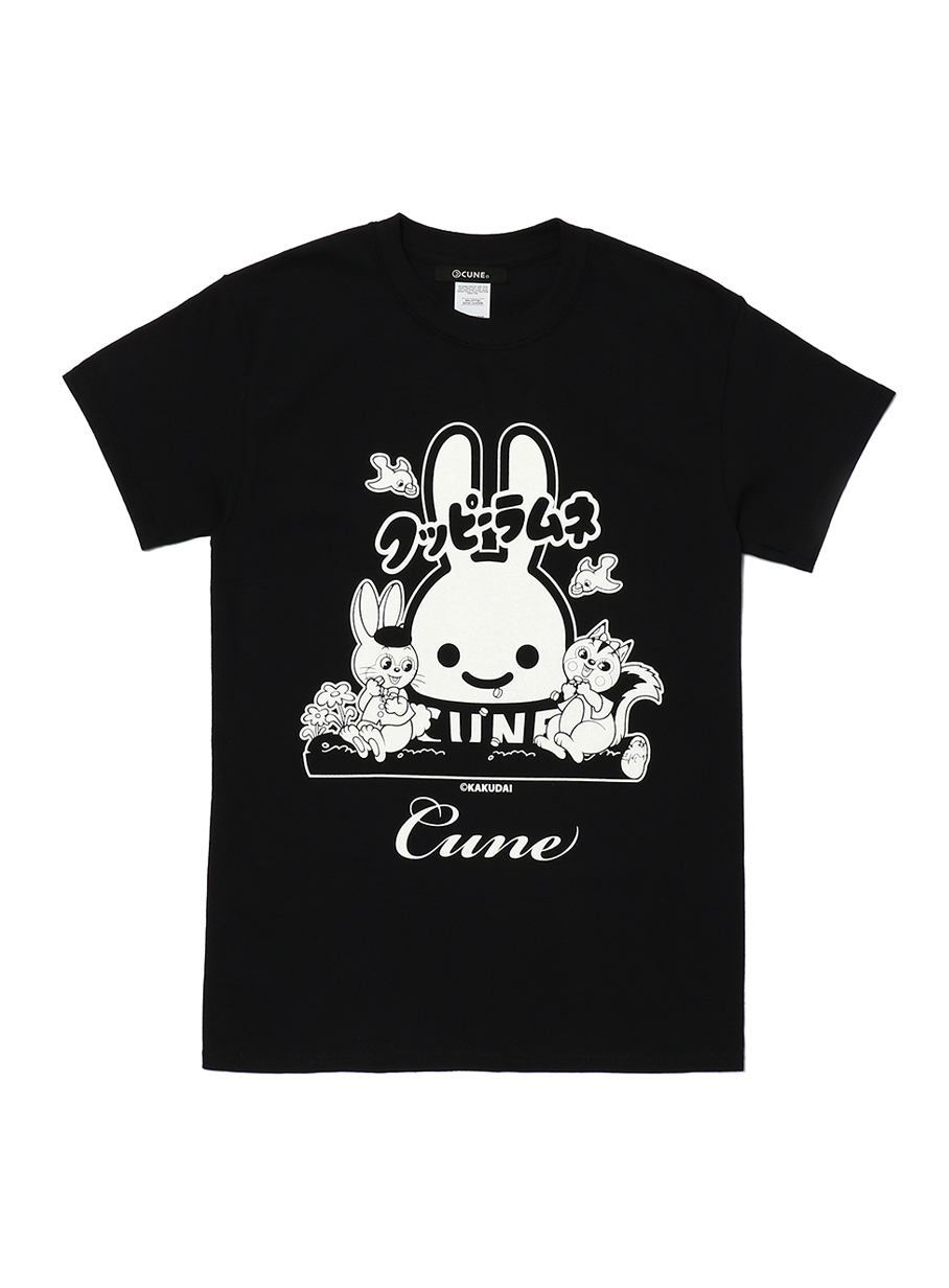 23rd COLLAB T-SHIRT クッピーラムネ正面