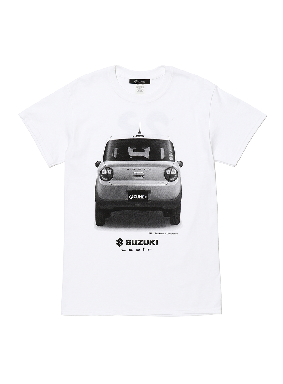 23rd COLLAB T-SHIRT スズキ ラパン背面