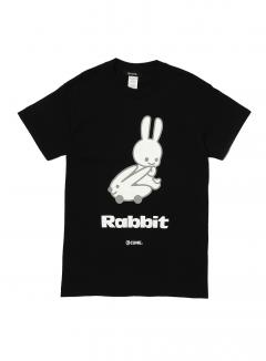 23rd COLLAB T-SHIRT ラビット乗る