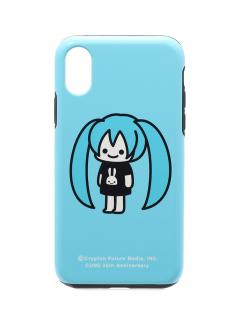 25th COLLAB iPhone cover X/XS 初音ミク 二頭身