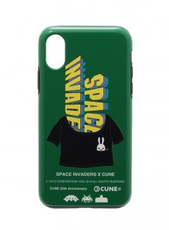 25th COLLAB iPhone cover X/XS スペースインベーダー LOGO