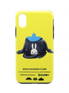 25th COLLAB iPhone cover X/XS スペースインベーダー CANNON