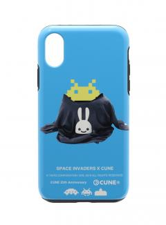 25th COLLAB iPhone cover X/XS スペースインベーダー CRAB