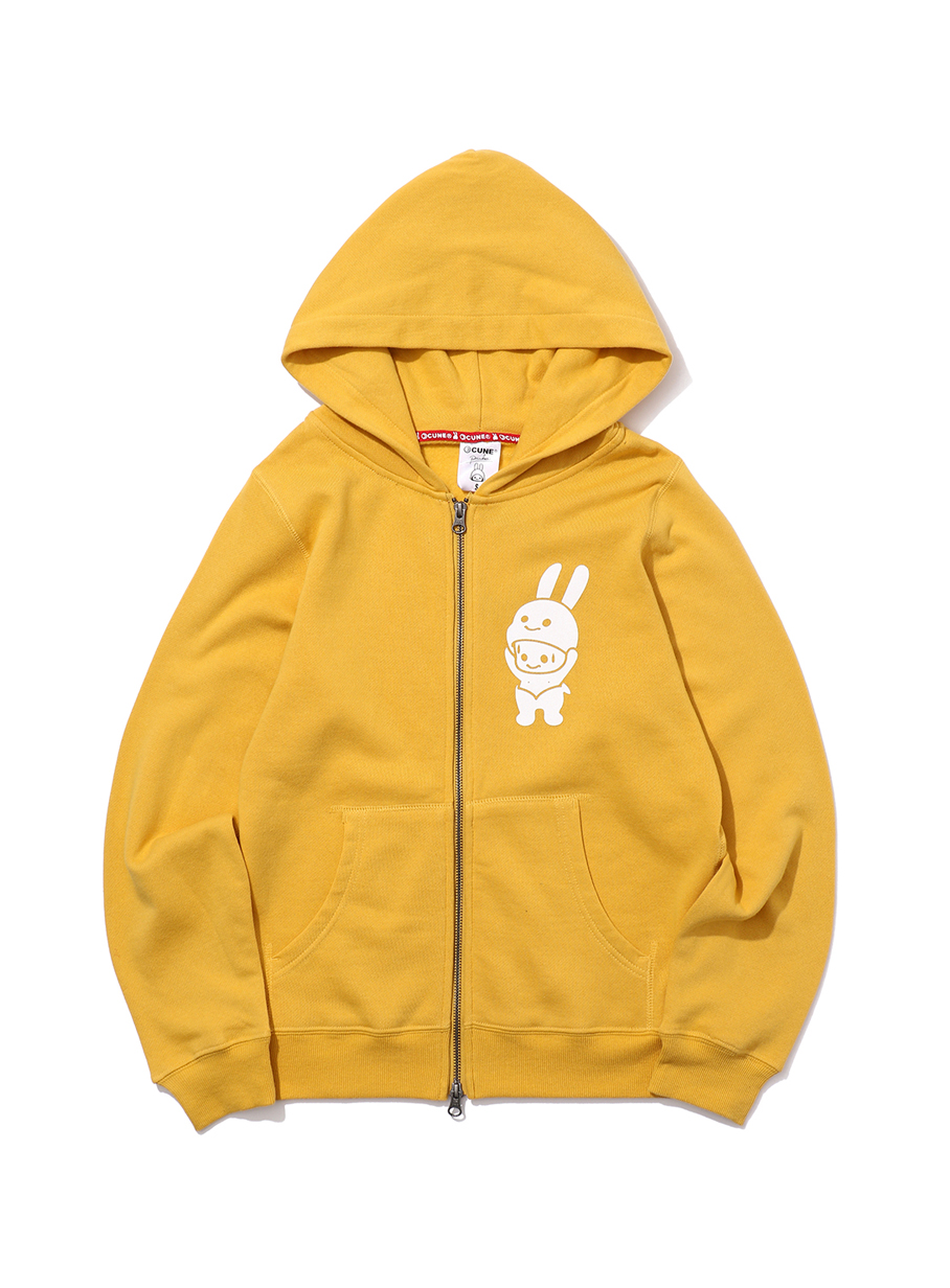 CUNE ZIP PARKA ウサギきぐるみ