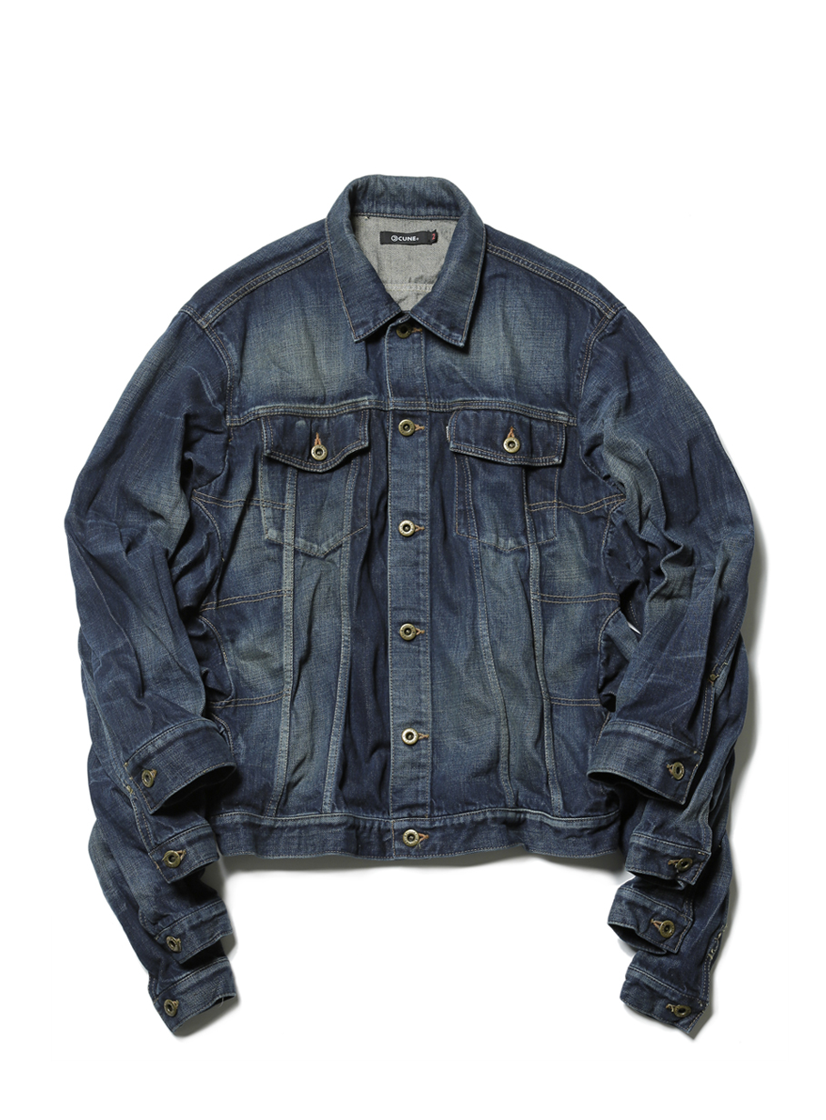 eight arms denim jacket